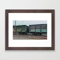 on rails Framed Art Print