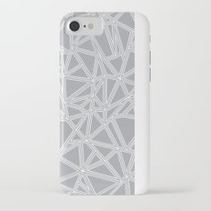 Abstract New Grey Slim Case iPhone 7
