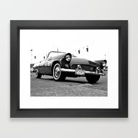 '56 T-Bird Framed Art Print