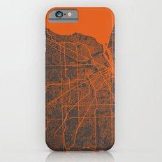 Detroit map iPhone 6 Slim Case