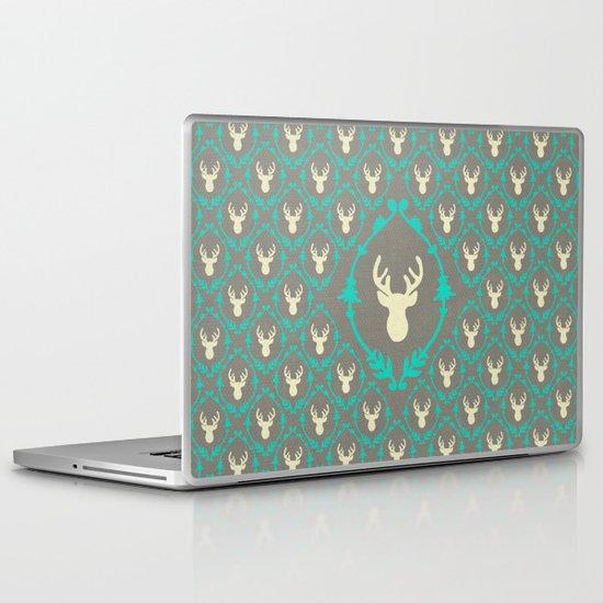 Oh Deer (white) Laptop & iPad Skin