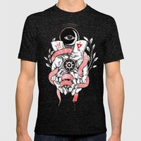 The Blood offering Mens Fitted Tee Tri-Black SMALL