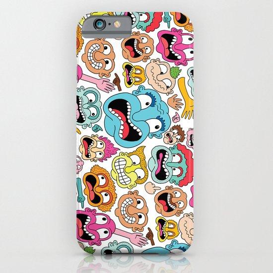 Weird Faces iPhone & iPod Case