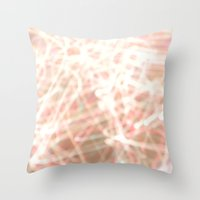So many lights. Throw Pillow