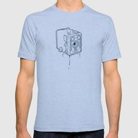 box brownie Mens Fitted Tee Athletic Blue SMALL