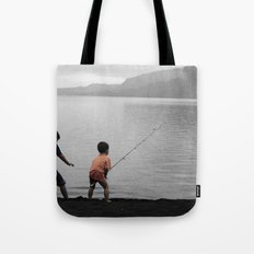 On The Lake Tote Bag