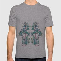 Calahan's Orchids Mens Fitted Tee Athletic Grey SMALL