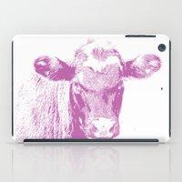 Pink Cow iPad Case