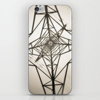 Electricity iPhone & iPod Skin