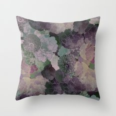 Purple shades Throw Pillow