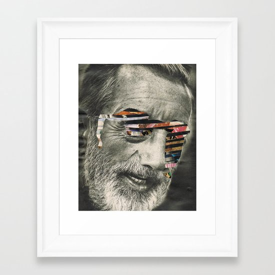 beat on repeat... Framed Art Print