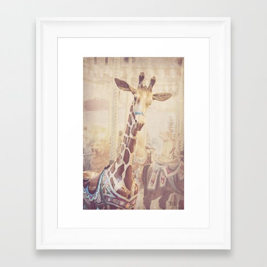 Front and Center Framed Art Print
