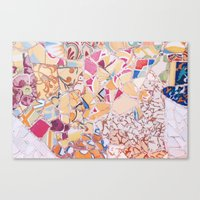 Tiling With Pattern 4 Canvas Print