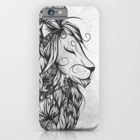Poetic Lion B&W iPhone 6 Slim Case