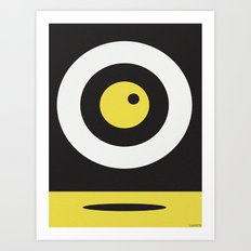 MOON BUZZ Art Print
