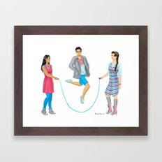 Fashion Journal: Day 21 Framed Art Print