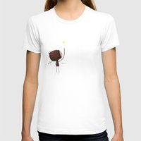 What if Womens Fitted Tee White SMALL