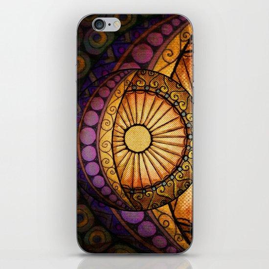 Sun and Moon iPhone & iPod Skin