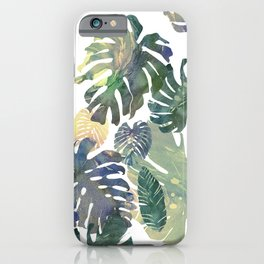 iPhone & iPod Case - Tropical Leaves - franciscomffonseca