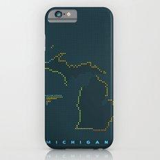 MDOT - Michigan Land & Maritime Borders Slim Case iPhone 6s