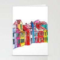 italy Stationery Cards featuring Italy by Dheiuk