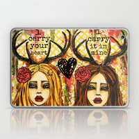 I carry your heart Laptop & iPad Skin