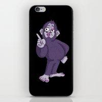 Sassy Squatch iPhone & iPod Skin