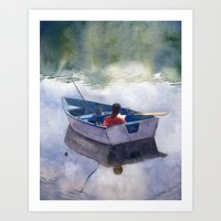 End of Summer Art Print