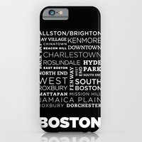 iPhone & iPod Case featuring City of Neighborhoods - I by Malena Luongo