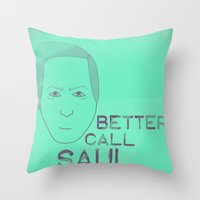 Breaking Bad - Faces - S… Throw Pillow