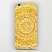 Golden Sun Mandala iPhone & iPod Skin