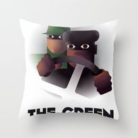 Cassandre Spirit - The G… Throw Pillow