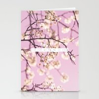 She Who Is Brave Is Free Stationery Cards