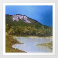 Mountain Lake I Art Print