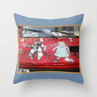 Hot Wheels Throw Pillow