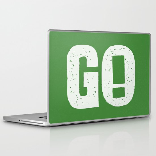 GO! Laptop & iPad Skin