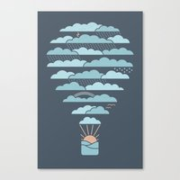 Weather Balloon Canvas Print