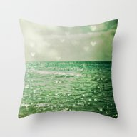 Sea Of Happiness Throw Pillow