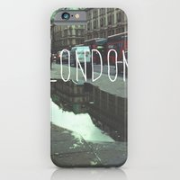 iPhone & iPod Case featuring London by Efua Boakye