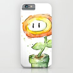 Fireflower Watercolor Painting Slim Case iPhone 6s