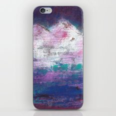 Pink Mountains iPhone & iPod Skin