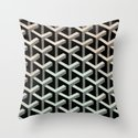 mesh cubes Throw Pillow