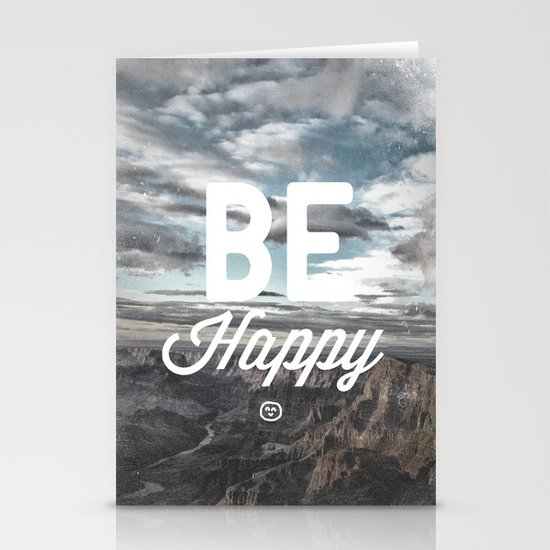 Be Happy Stationery Card