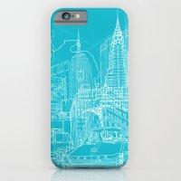 New York! Blueprint iPhone 6 Slim Case