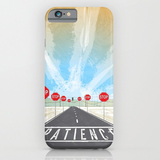 PATIENCE iPhone & iPod Case