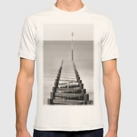 Number 11 Mens Fitted Tee Natural SMALL