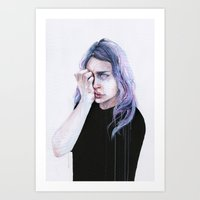 I could but I can't Art Print