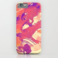 iPhone Cases featuring Dawn of Nature by choppre