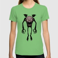 Nosferatu Womens Fitted Tee Grass SMALL