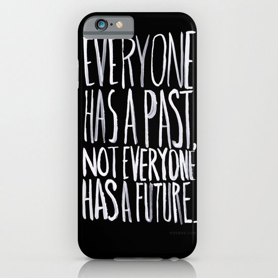Past/Future iPhone & iPod Case